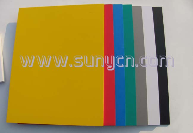 5mm 黄色安迪板