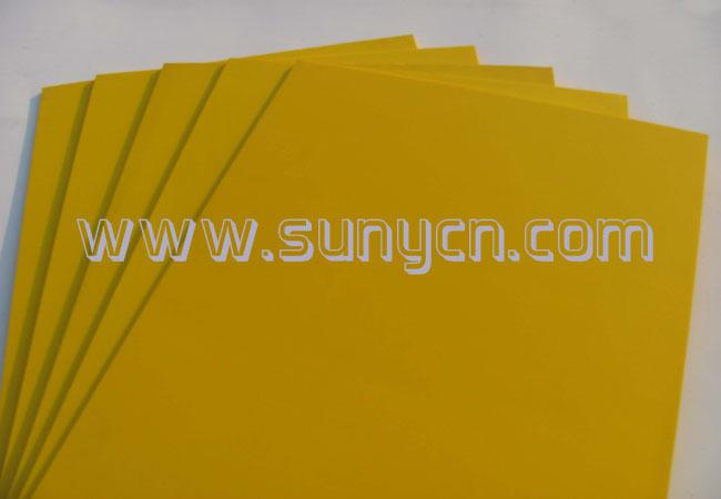6mm 黄色安迪板